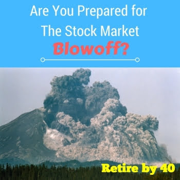 Are you prepared for the stock market blowoff?