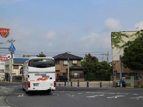 南海バス「サザンクロス」銚子線 ・478 銚子駅到着_02