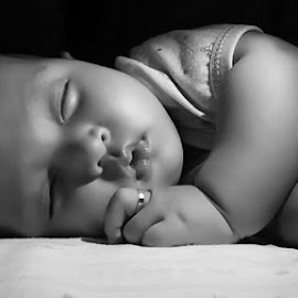Baby sleeping by Enda Photo - Babies & Children Babies ( #people #photography #baby #children #picture )