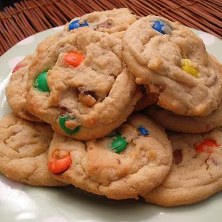 Chocolate Chip M&M Cookies.