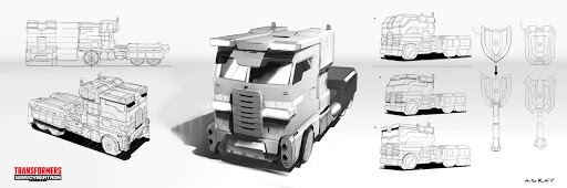 Transformers War For Cybertron Siege, Power of the Primes and BotBots – Aaron Gray Concept Art