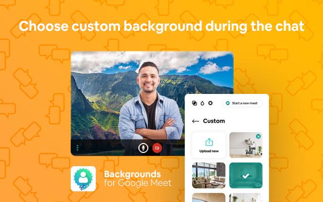 Google Meet Virtual Backgrounds
