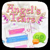 GO SMS PRO ANGEL TEARS THEME