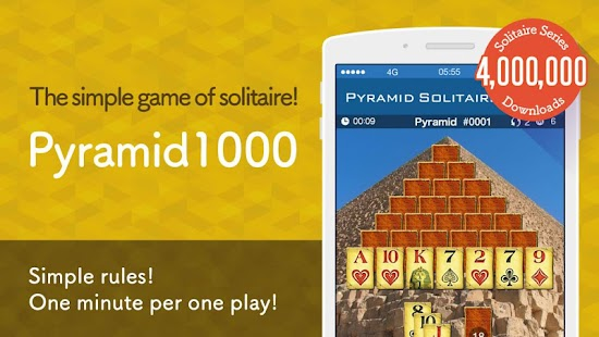 Pyramid Solitaire 1000 - náhled