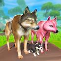Wolf Simulator: Wild Animal Attack Game icon