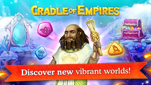 Cradle of Empires Match-3 Game (free shopping)
