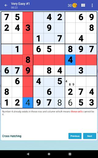 Sudoku Free - Classic Brain Puzzle Game screenshot 18