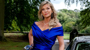 Claire King was hit with umbrellas by angry Emmerdale fans