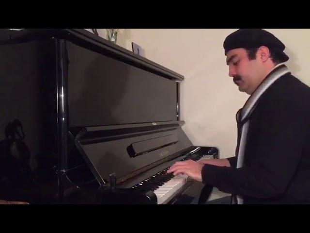 حسرت آهنگساز و پیانو احسان نیک
