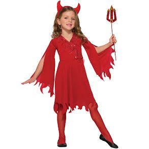 Djävulsklänning barn
