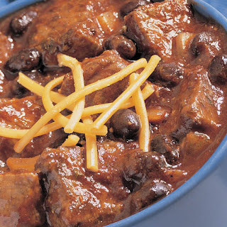 Black Bean and Beef Chili.