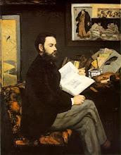 """Photo: Eduard Manet - """"Ritratto di Emile Zola"""" (1868)"""