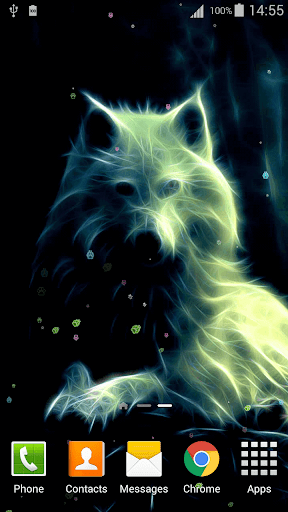Download Neon Wolf Live Wallpaper Free For Android Neon Wolf Live Wallpaper Apk Download Steprimo Com
