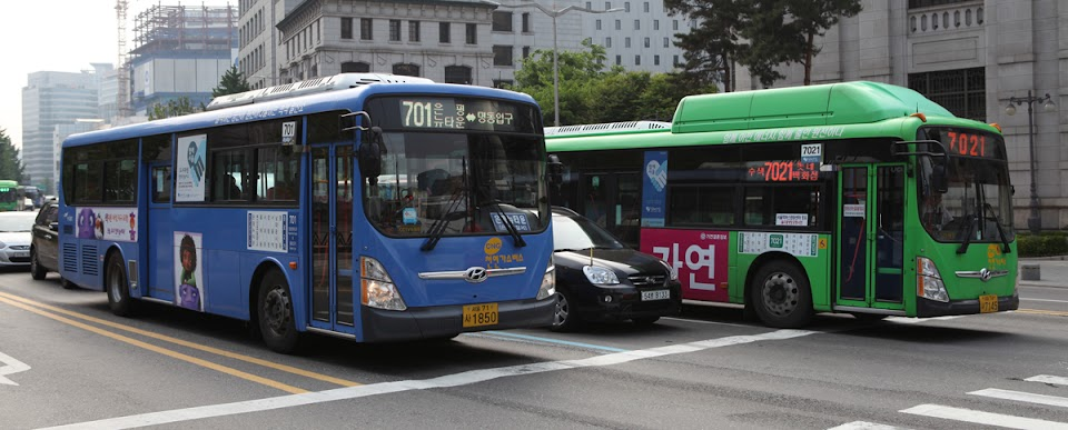 Seoul-Korea-Bus
