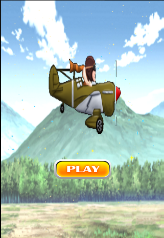 Flapy war plane