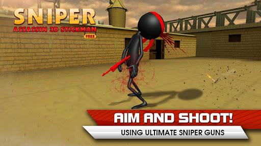 Sniper Assassin 3D Stickman