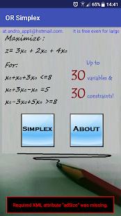 OR Simplex - náhled