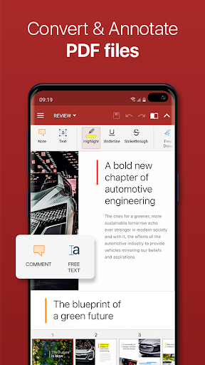 OfficeSuite - Office, PDF, Word, Excel, PowerPoint screenshot 3
