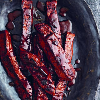 BBQ Seitan Ribs With Homemade Barbecue Sauce [Vegan].