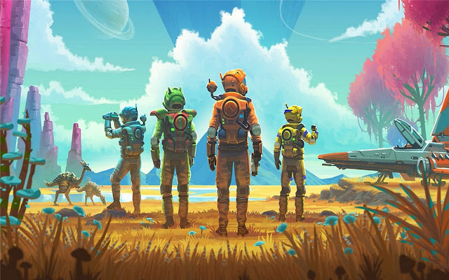 Astroneer Themes & New Tab