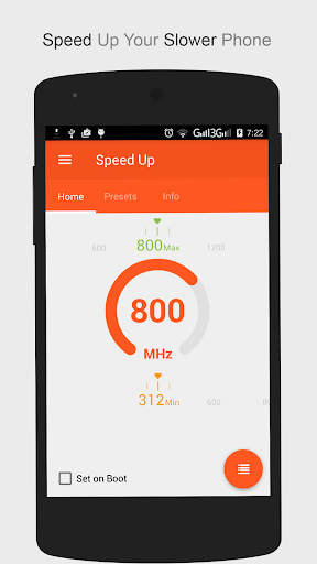 Speed Up Pro (Set CPU) v1.0.1 (Paid)