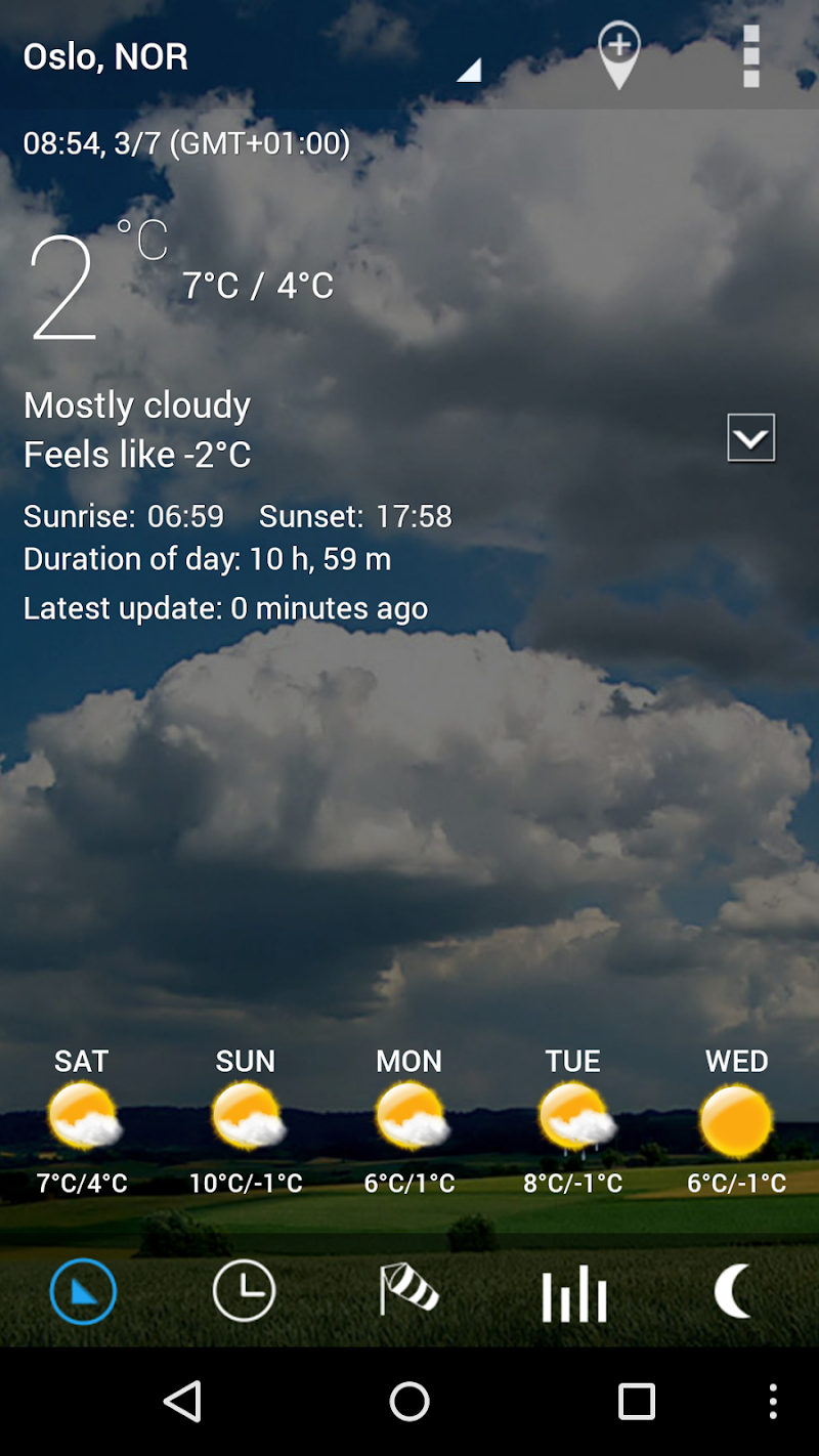 3D Flip Clock & Weather Pro Screenshot 3