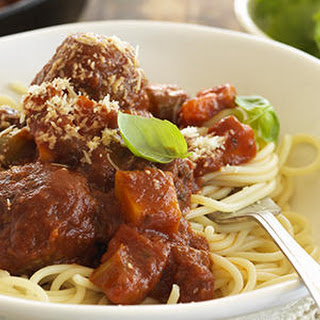 Moreish Meatballs in Tomato and Sweet Basil Sauce Recipe