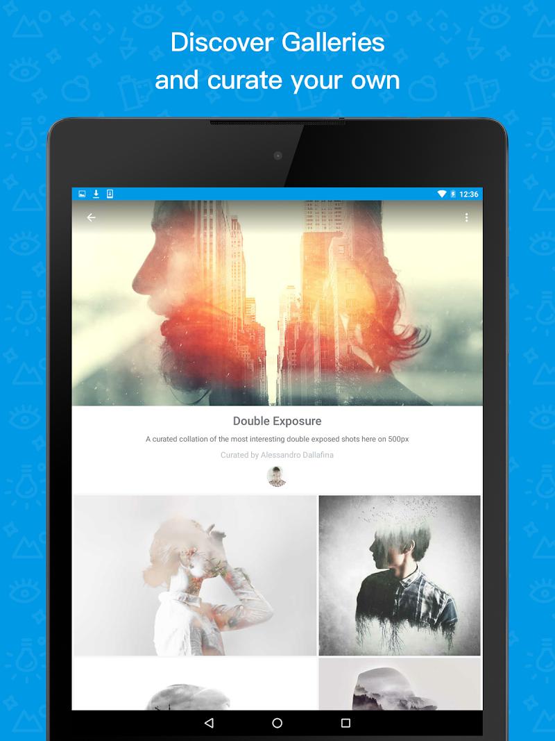 500px – Discover great photos Screenshot 6