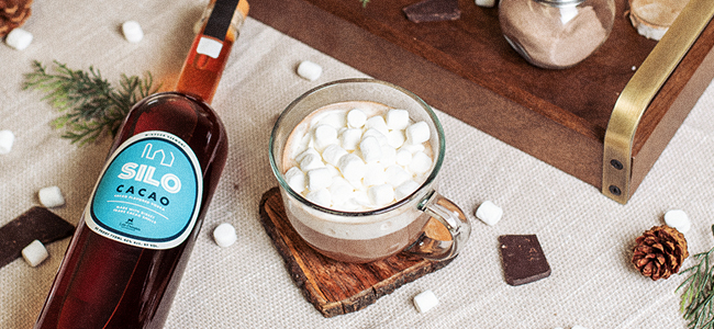 SILO Distillery's Winter Evening Hot Chocolate