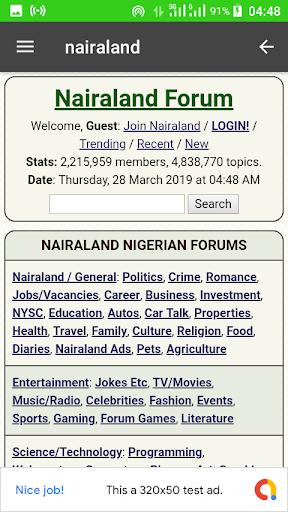 Naija dating forum