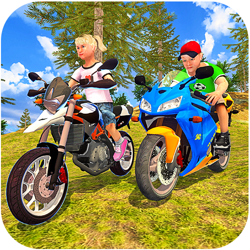 Kids Uphill Offroad Motorbike Racing Driver