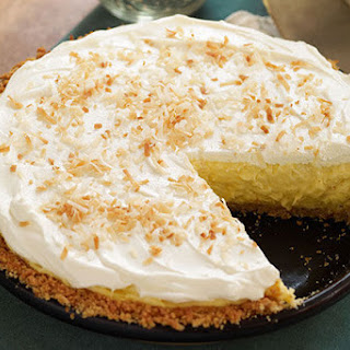 Coconut-Cream Cheese Pie Recipe