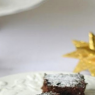 Chocolate Brownie with Black Beans.