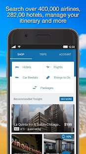 Orbitz - Flights, Hotels, Cars - náhled