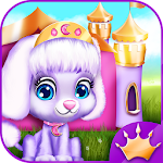 Pet House Game Princess Castle Icon