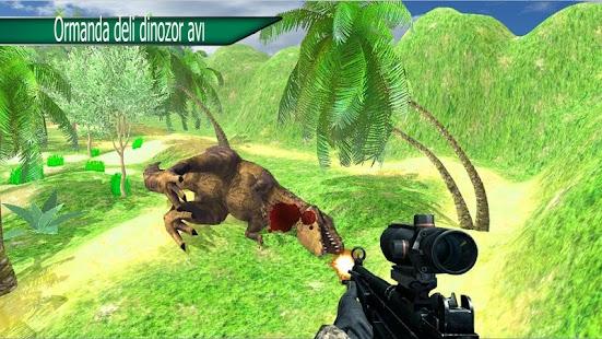 Vahşi hayvan büyük dino avcısı Ekran Görüntüsü