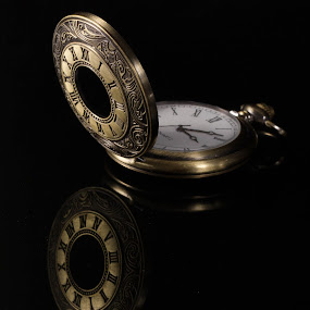 Time travel by Nitesh Badave - Artistic Objects Antiques ( old, time. watch, antique, golden )