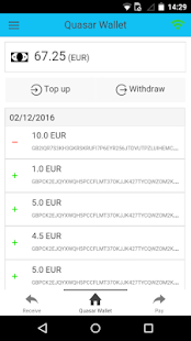 Quasar Wallet- screenshot thumbnail