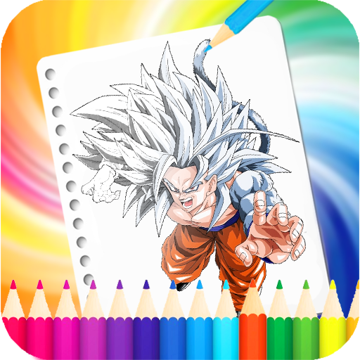 Coloring Dragon Ball Pages