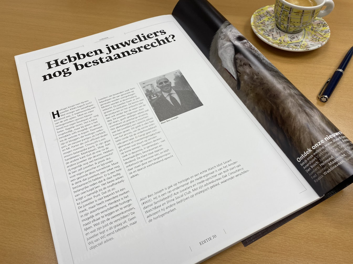 First column for 0024 Horloges Magazine