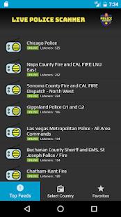 Live Police Scanner - náhled