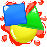 Colors and Shapes for Toddlers Icon