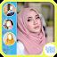 Gaya Hijab Layering Photo Frame icon
