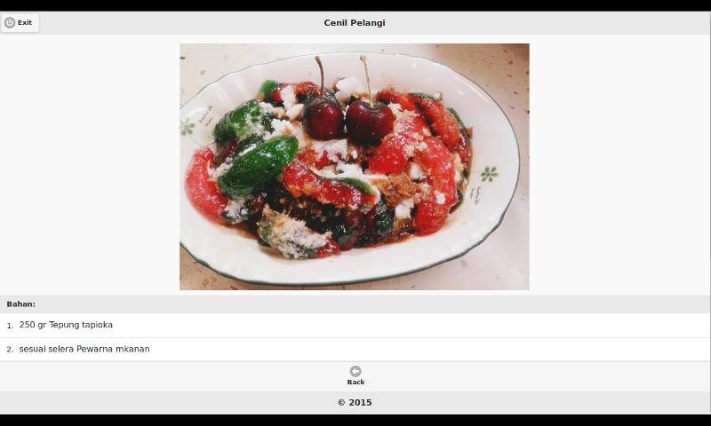 aneka resep masak kue basah 9   android apps on google play