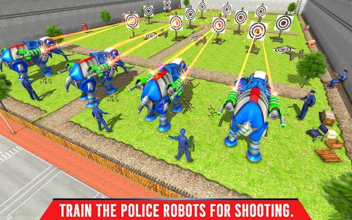 Police Elephant Robot Game: Police Transport Games 1.0.1 11