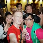 with my friends at Knutsford Terrace in Kowloon in Hong Kong, , Hong Kong SAR