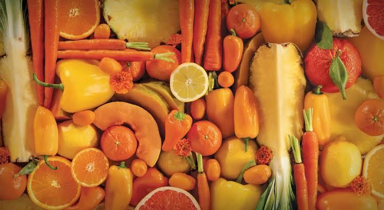 4. การทานอาหารที่มีสีส้ม