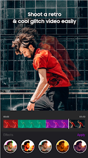 App Star Glitch Video- Video Editor Slow Motion APK for Windows Phone