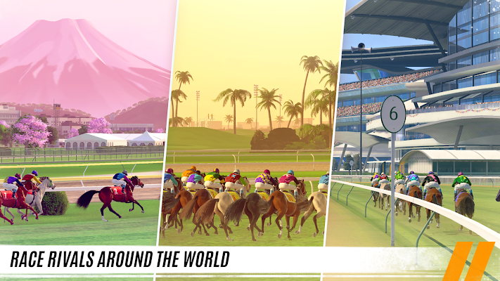 Rival Stars: Horse Racing Screenshot Image