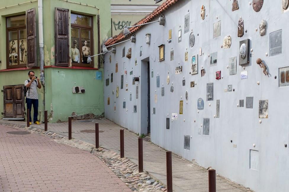 Wilno, Literatų gatvės projektas